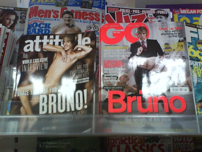 Attitude GQ Bruno covers