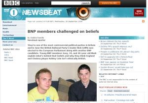 Newsbeat BNP grab