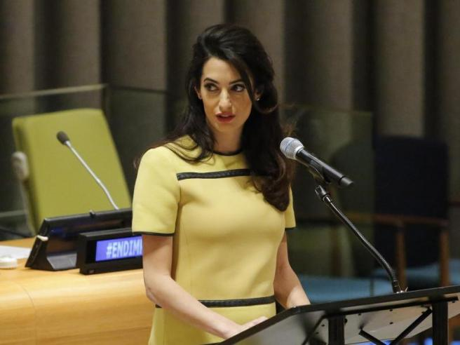 Independent | Amal Clooney is fighting Isis – but thankfully