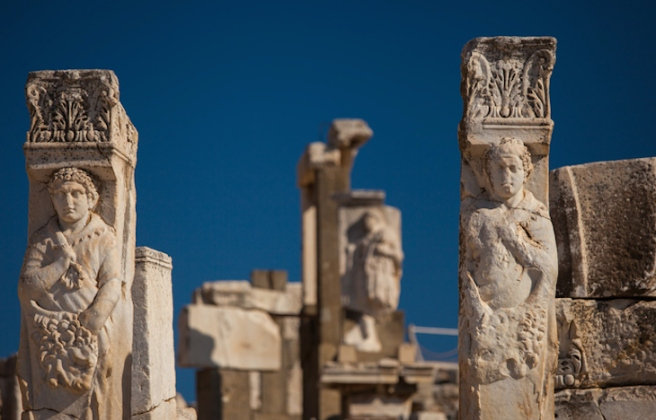 Sculpture in Ephesus